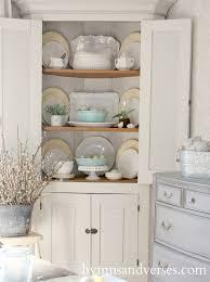 Best  Corner Cupboard Ideas On Pinterest Kitchen Corner - Kitchen cabinet with hutch