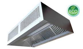 ventilation hotte cuisine hotte à jet induit avec traitement uv econova uvc