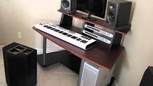 home studio workstation desk 50 most magic used furniture jackson ms home studio workstation desk