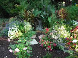 beautiful flower gardens waterfalls the gardens surrounding