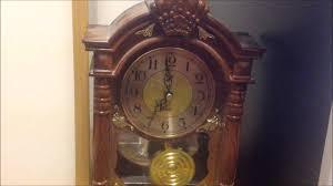 Barwick Grandfather Clock Wsd Plate Westminster Chime Clock Youtube