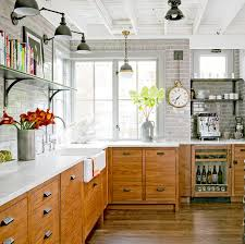 modern country kitchen with oak cabinets 8 ways to decorate with oak cabinets for a modern look