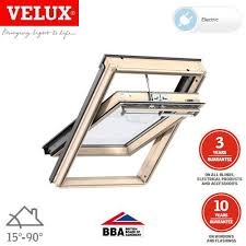 Velux Ggl 4 Blind Velux Ggl Sk06 307021u Pine Centre Pivot Integra Window 114cm X