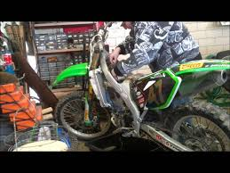 kx250f repair youtube