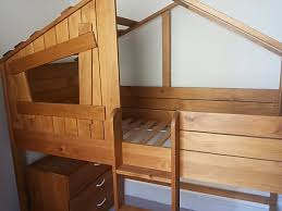 Bunk Bed Used Next Treehouse Bunk Bed And Chest Used As New Free Local