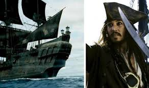 ship used in pirates of the caribbean film series sinks