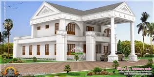 home design 3d pictures 1500 sqft double bungalows designs 3d also kerala home design and