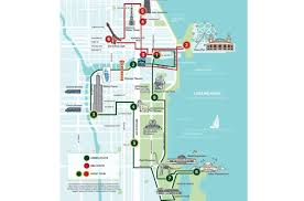 Chicago Map Pdf Hop On Hop Off Chicago City Sightseeing