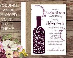 wine themed bridal shower wine bridal shower etsy