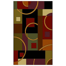 shop shaw living pulsar rectangular indoor woven area rug at lowes