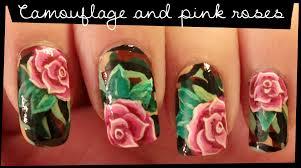romantic roses nail art youtube nailartrose nail paint pinterest