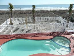 oceanfront 5 bedroom 3 bath private homeaway cherry grove beach