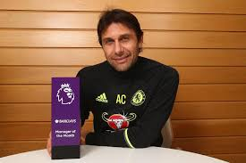 conte makes history as barclays manager of the month