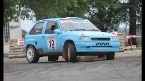 opel rally car ken sturdy vauxhall nova rally car youtube