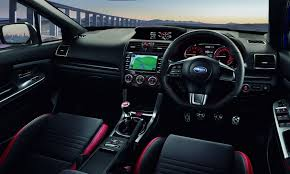 subaru wrx interior 2018 japan u0027s subaru wrx sti gets 304hp from a 2 0 liter turbo engine