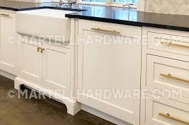 brushed brass cabinet knobs brushed brass finish square bar series cabinet drawer hardware
