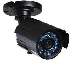 exterior home security cameras business shopping and restaurant on