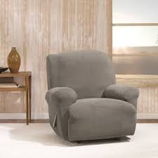 Slipcover Wing Chair Recliner Covers U0026 Wing Chair Slipcovers Shop The Best Deals For