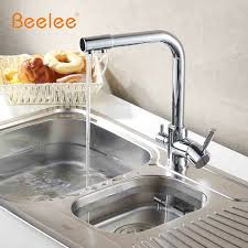 kitchen faucet water purifier beelee all copper and cold water purifier kitchen water faucet