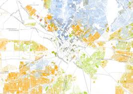 Dart Map Dallas by Color Coded Map Shows Racial And Ethnic Make Up Of North Texas