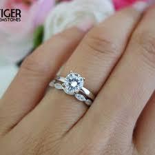 wedding sets on sale shop 1 carat diamond solitaire ring on wanelo