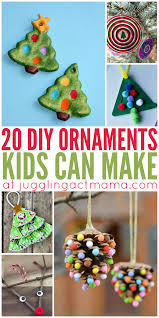 20 diy ornaments can make ornament craft and holidays