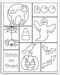 boo halloween coloring page for you plus two others that show