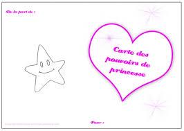 coloriage princesse carte de princesse