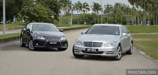 lexus equivalent to toyota lexus es u2013 space comparison vs s class and camry image 219498