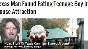 Haunted House Meme - texas boy eaten alive at haunted house but not really