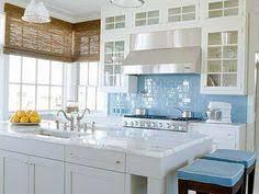 Kitchen Backsplash Blue Subway Tile Gencongresscom - Blue backsplash