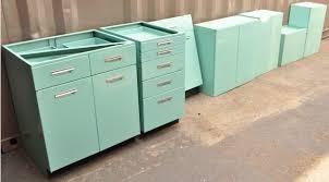 1950s Metal Kitchen Cabinets   168 1950s metal kitchen cabinets lot 168 urban retro