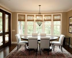 Dining Room Window Attractive Dining Room Window Curtains Inspiration With Dining