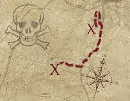 Blank Pirate Treasure Map by Roswell Strobel Fantasy Maps And Pirates