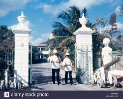 government house nassau bahamas gates west indies soldiers rifles