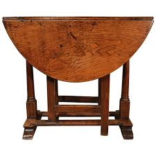 Mid Century Modern Dining Room Table Small Late 17th Century Oak Gate Leg Table At 1stdibs