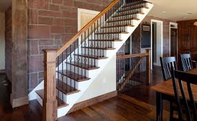 stairs amazing indoor wrought iron railings precision balusters