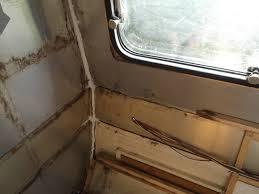 morris 1970s vintage caravan restoration june 2012