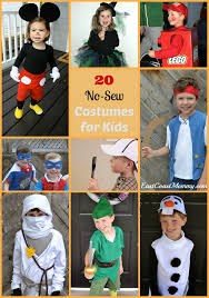 awesome costumes east coast 20 awesome no sew costumes for kids