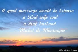 a marriage would be between birthday quote for husband