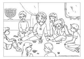 chanukah coloring pages mediafoxstudio com