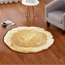 tree ring coffee table 80 100 120cm antique wood tree annual ring round carpet for living