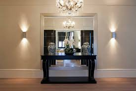 amazing mirrored console table beauty home decor