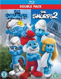 smurfs 1 2 includes ultraviolet copy blu ray zavvi