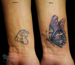 butterfly cover up butterfly and tatoos