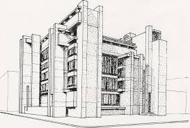 architectural drawings of buildings design home design ideas building architecture drawing in excellent stock photo