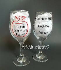 wine glass gift wine glass gifts for teachers gift ideas