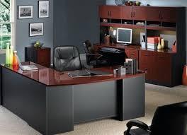meuble de bureau meuble bureau haut bureau blanc et gris lepolyglotte
