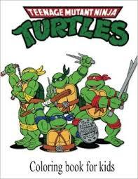 coloring book kids teenage mutant ninja turtles teenage
