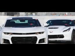 camaro zl1 vs corvette z06 2017 camaro zl1 vs 2016 c7 z06 track day